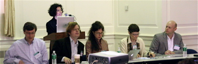 Photo of the first panel at ELO2007