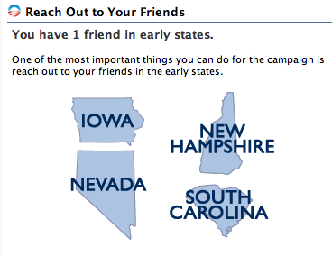 Add friends in early states