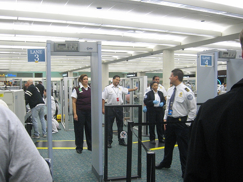 Beyond the blue horizon airport security gates what a