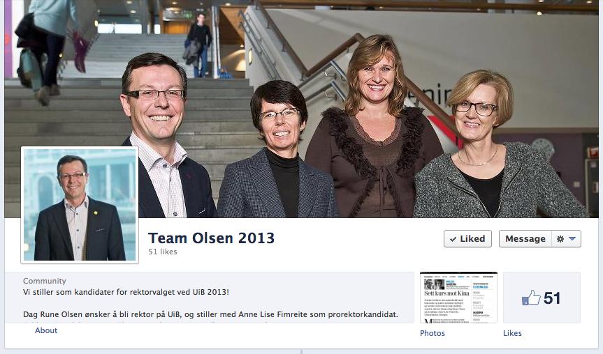 Facebook: TeamOlsen2013