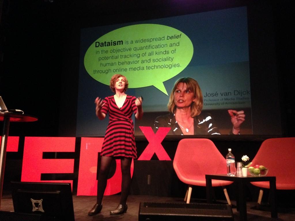 Jill-at-TEDxBergen-dataism
