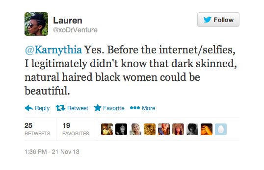 Lauren-xoDrVenture-selfies-for-not-mainstream-media-celebrities-race