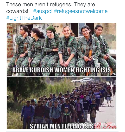 Not-refugees-cowards-twitter