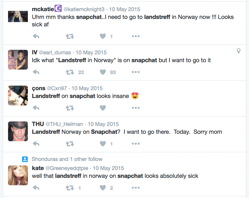 Tweets-about-Snapchat-Landstreff-Live-story