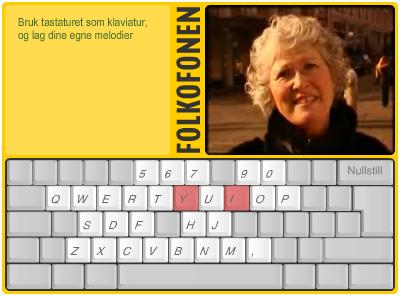 A screenshot of folkofonen